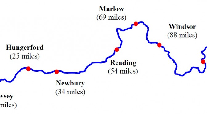 Devizes to Westminster map