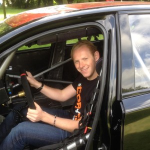 Max in SOPR Car