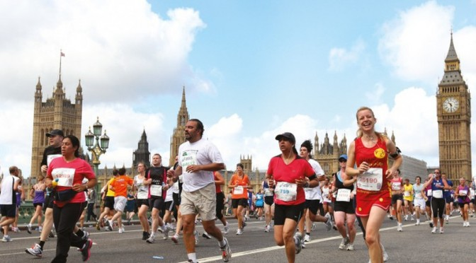 Vitality British 10k London Run-a