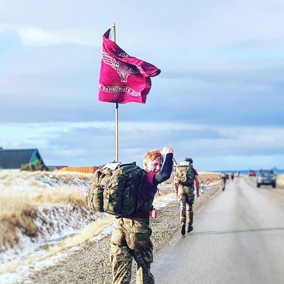 PARAS'10 Falklands - SUPPORT OUR PARAS